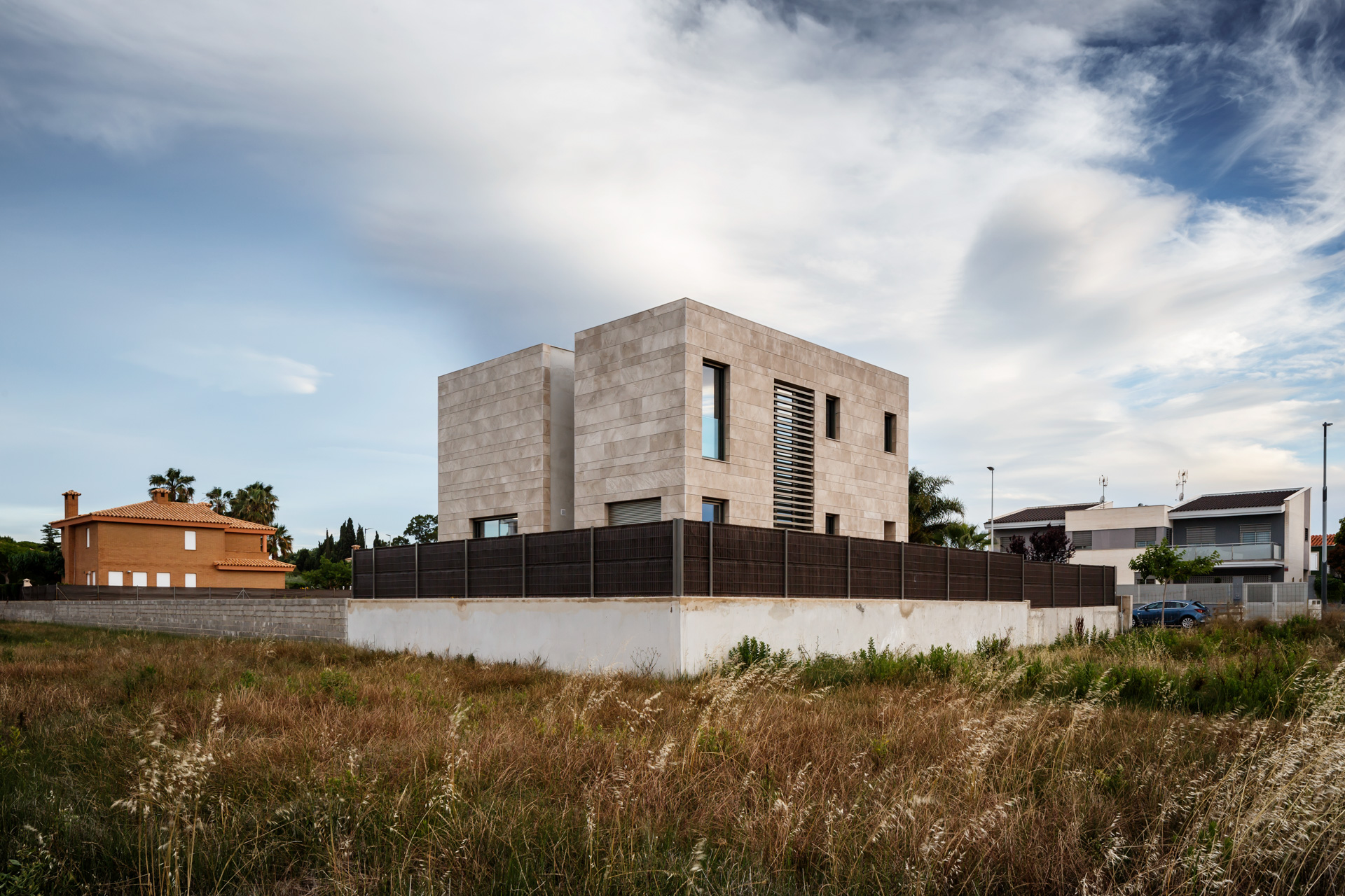 Arquitectura moderna_volumen_arquitectos valencia_vivienda unifamiliar_proyectos