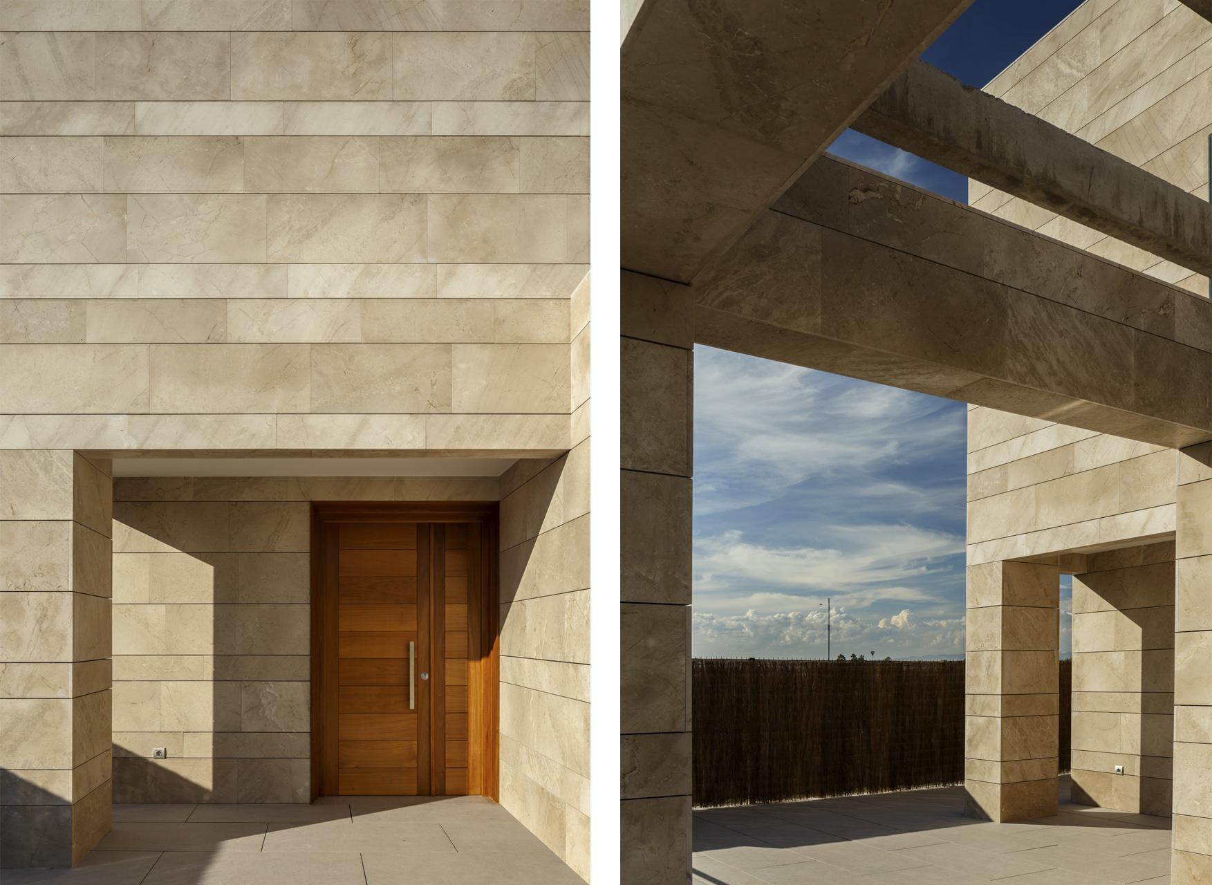 Fachada_arquitectura moderna_arquitectos valencia_volumen_entrada_proyectos
